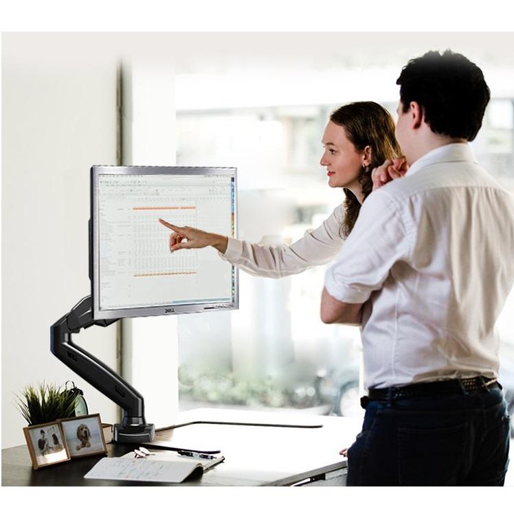 Luxusní kancelářský držák monitoru Fiber Mounts F80