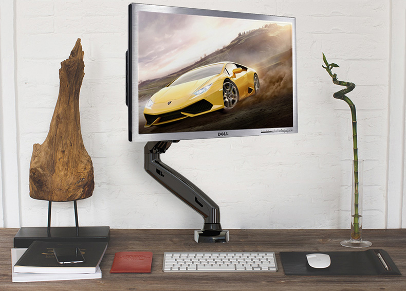 Reprezentativní držáky na monitory TOP kvality a designu Fiber Mounts F80 / drzakyastolky.cz