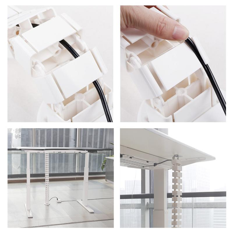 Kabelový manager - stolová krytka na elegantní ukrytí nevzhledné kabeláže - Fiber CMP017W