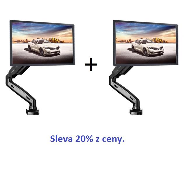 4ks stolní kancelářský držák monitoru Fiber Mounts F80