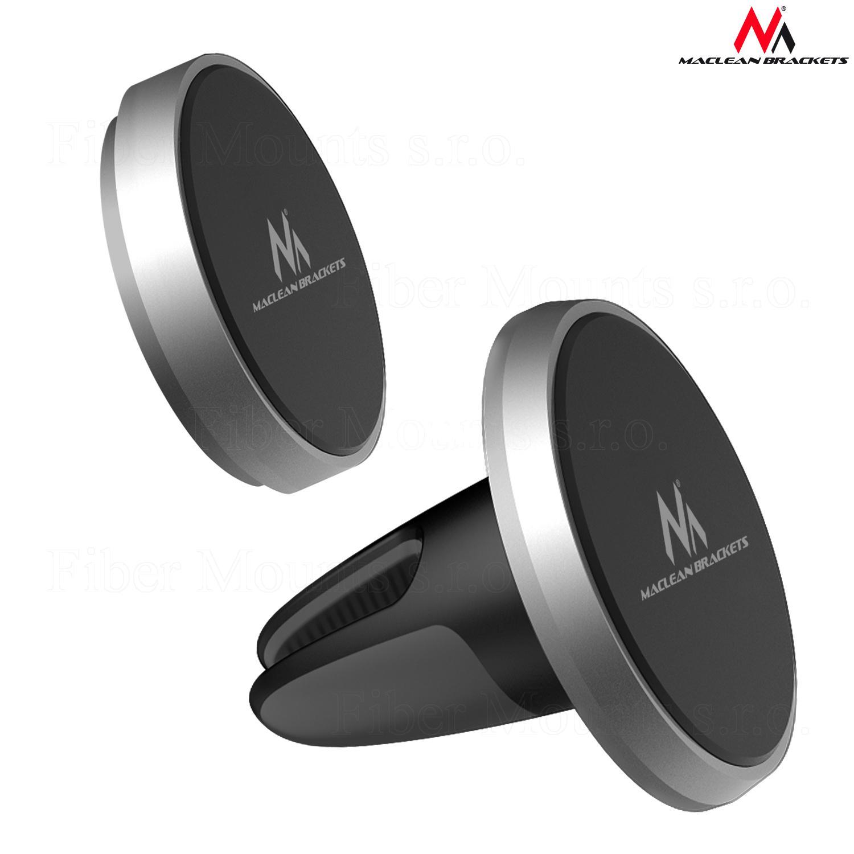 Maclean MC746 magnetický držák na tablet nebo telefon (Vynikající designový držák na tablet nebo telefon do auta nebo domácnosti - sada 2ks)