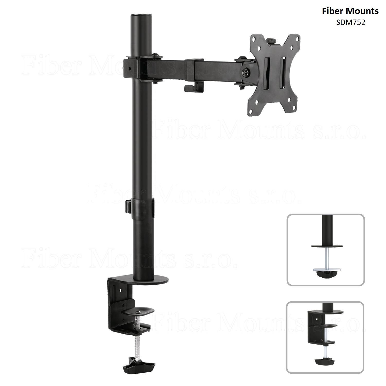 """Fiber Mounts SDM752 držák na monitor, kloubový, deskový (Kloubový deskový (stolní) držák na LCD LED dotykový monitor nebo Tv 13-32"""")"""