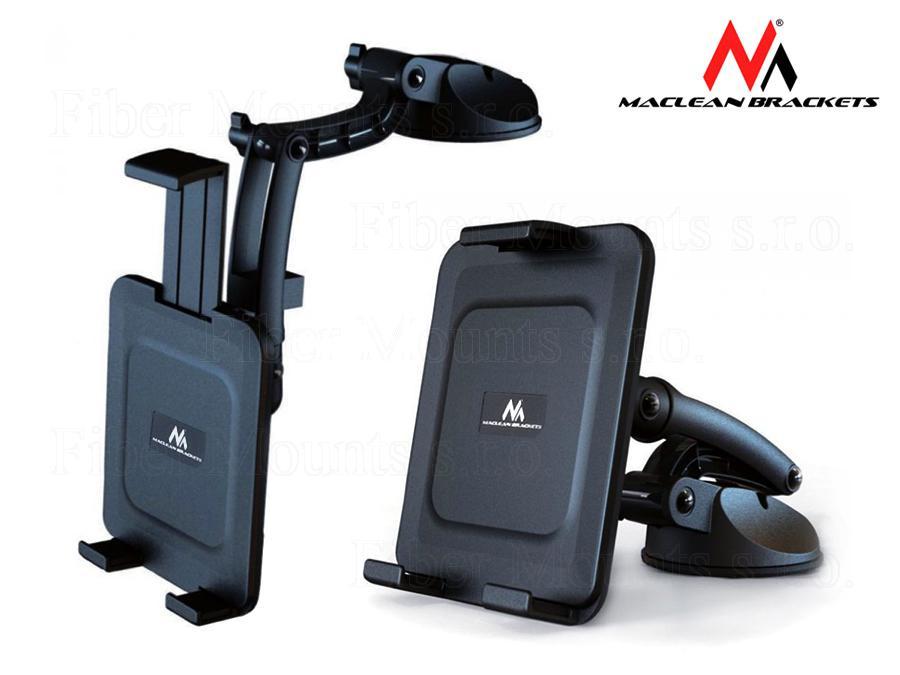 Fiber Mounts MC627 univerzální držák do auta (Univerzální kvalitní držák do auta na mobil, tablet, iPad nebo GPS, snadné nastavení do požadované polohy, spolehlivé a bezpečné uchycení)