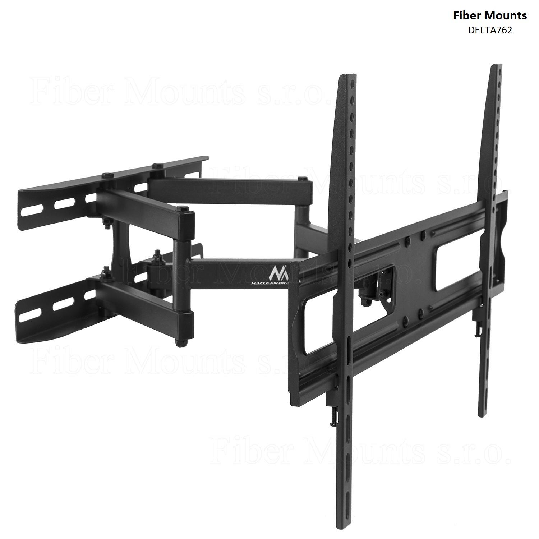 """Fiber Mounts DELTA762 levný otočný držák LCD LED televize (I levné držáky mohou být kvalitní - otočný, sklopný a délkově nastavitelný držák LCD LED televize na stěnu - doporučujeme na Tv 37-70"""", nosnost 30kg)"""