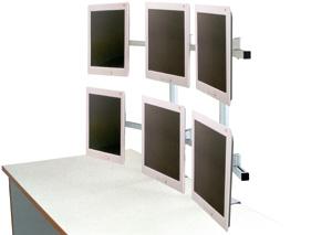 Držák na 6 monitorů - EDBAK SV17