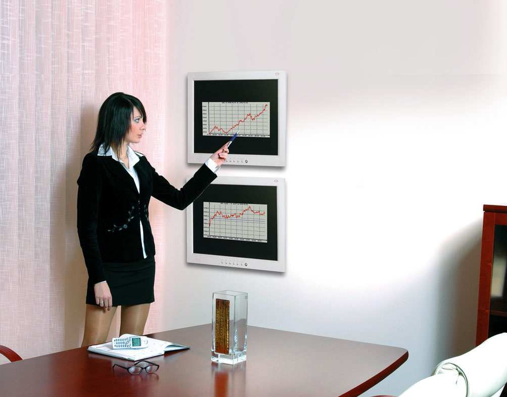 Držák na monitory a malé Tv - Edbak GD03