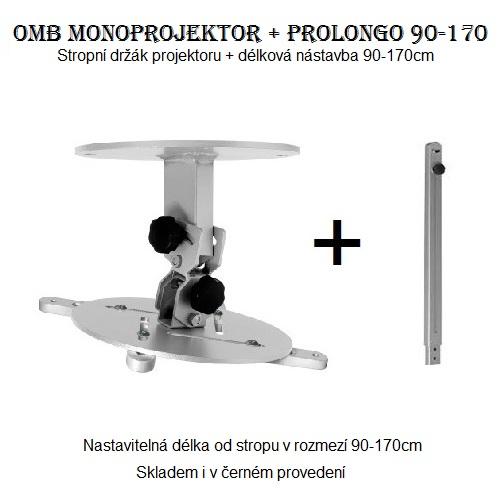 Držák na projektory s nastavitelnou délkou OMB Monoprojektor 90-170cm