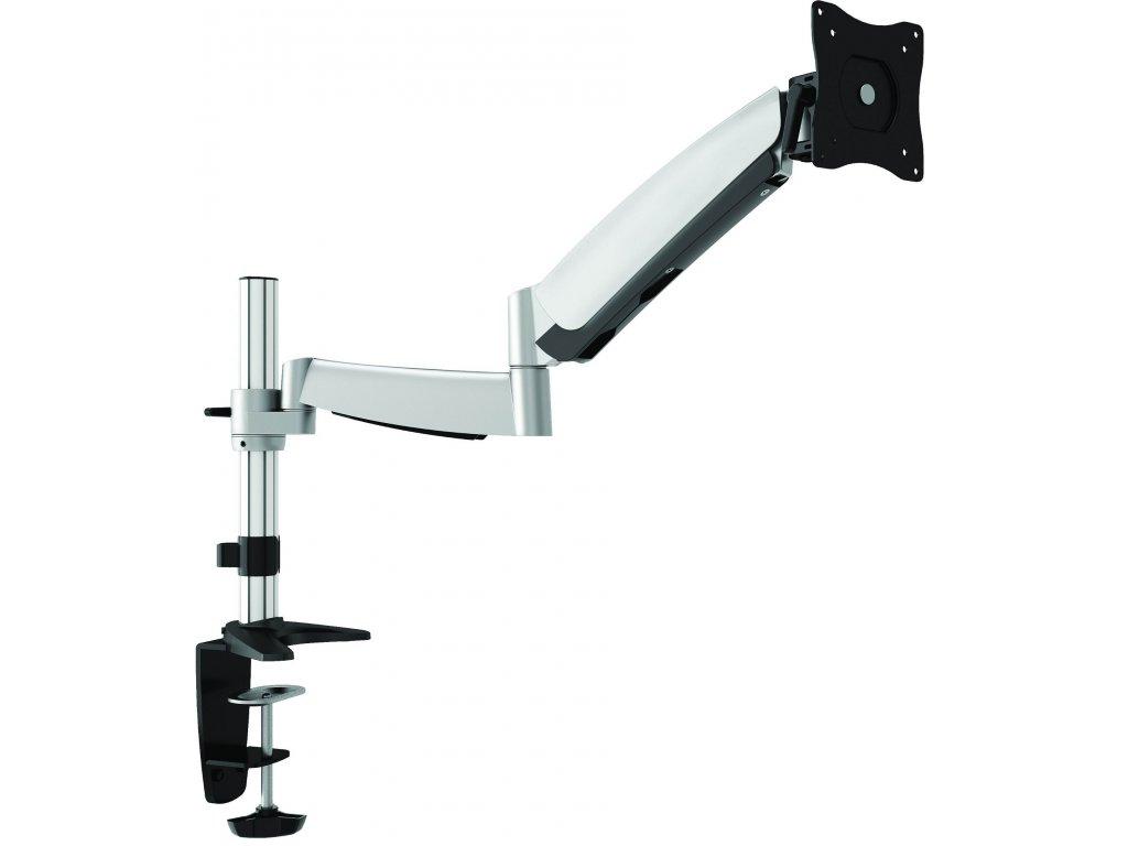 """Kancelářský držák na monitory Maclean MC586 (Polohovatelný držák na monitory 13-27"""", otočný, sklopný, délkově a výškově nastavitelný. Výborná kvalita, krásný design. )"""