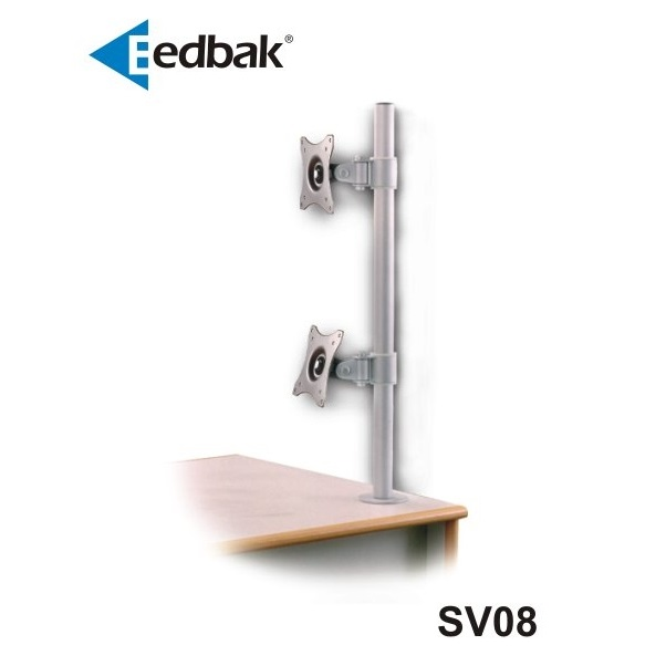 Držák 2 LCD EDBAK SV08