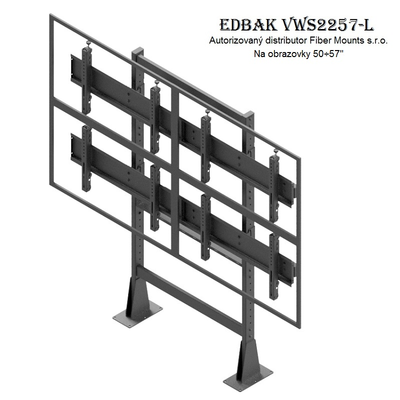 Televizní stěna EDBAK VWS2257-L