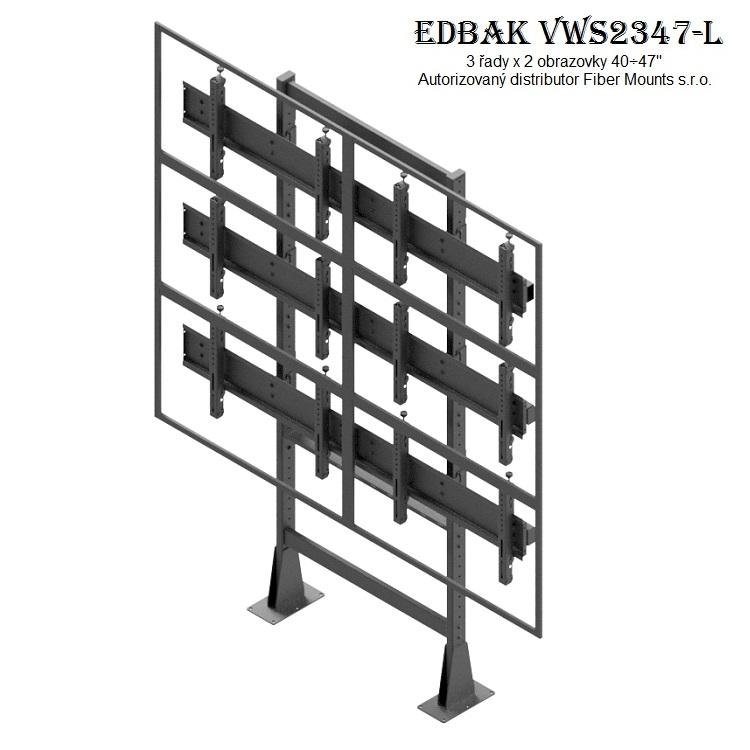 Televizní stěna EDBAK VWS2347-L