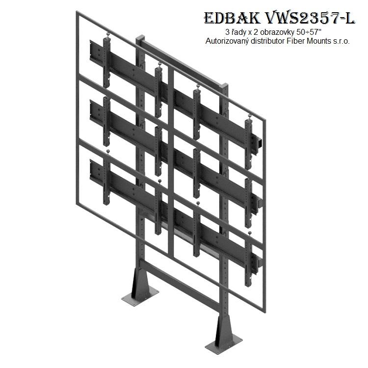 Televizní stěna EDBAK VWS2357-L
