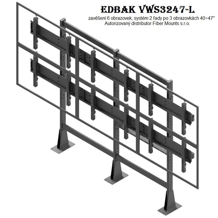 Televizní stěna EDBAK VWS3247-L