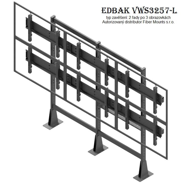 Televizní stěna EDBAK VWS3257-L