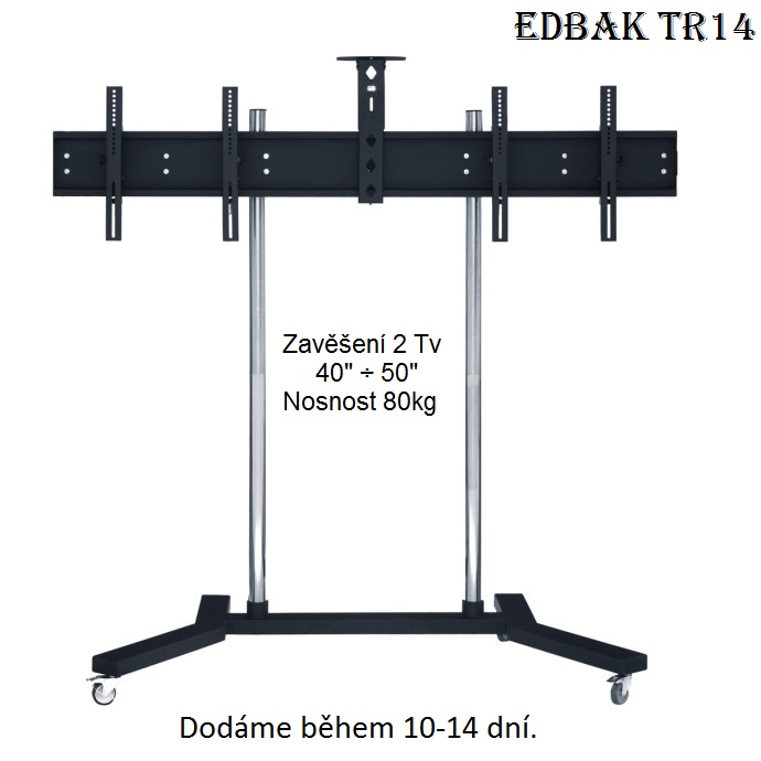 EDBAK TR14 - stojan na 2 televize