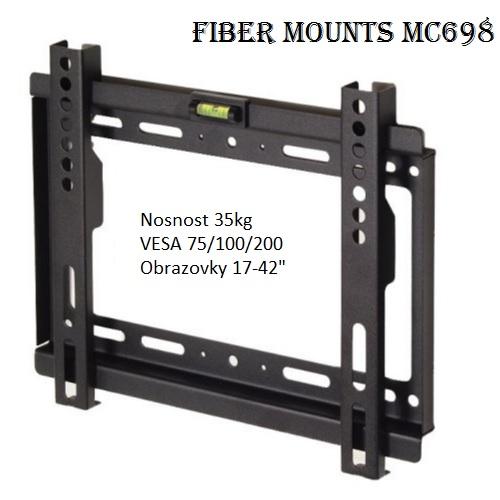 Fiber Mounts MC698 fixní držák tv monitoru