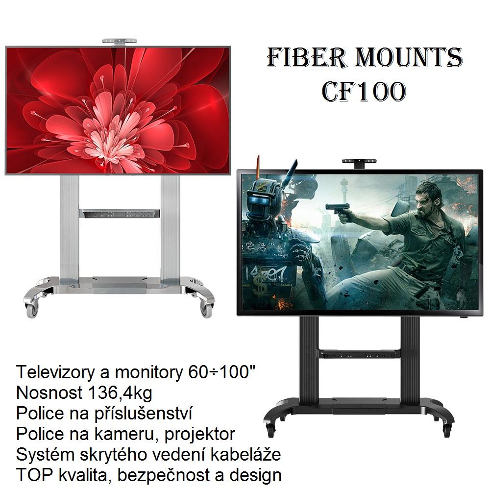 Konferenční televizní stojan Fiber Mounts CF100