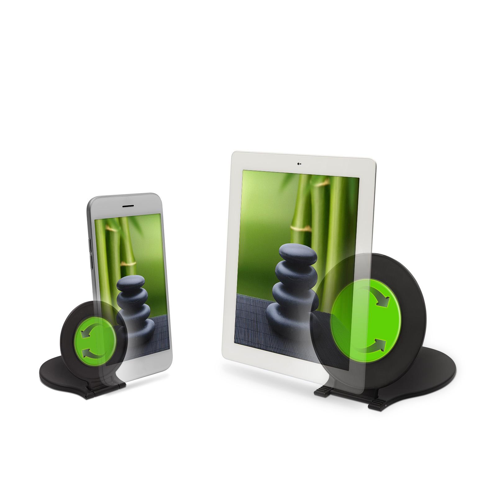 Sada dvou držáků - držák na tablet a držák na mobil, uchycení pomocí nanotechnologie - One Touch Univerzal Holder / drzakyastolky.cz