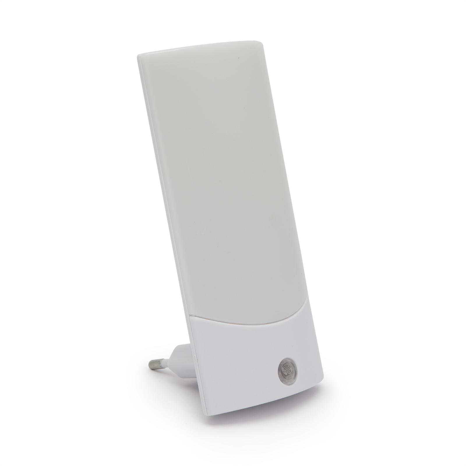 Noční světlo se senzorem setmění Phenom 20253S (Kvalitní designové noční světlo se senzorem setmění pro automatické sepnutí, barva bílá, velmi nízká spotřeba)