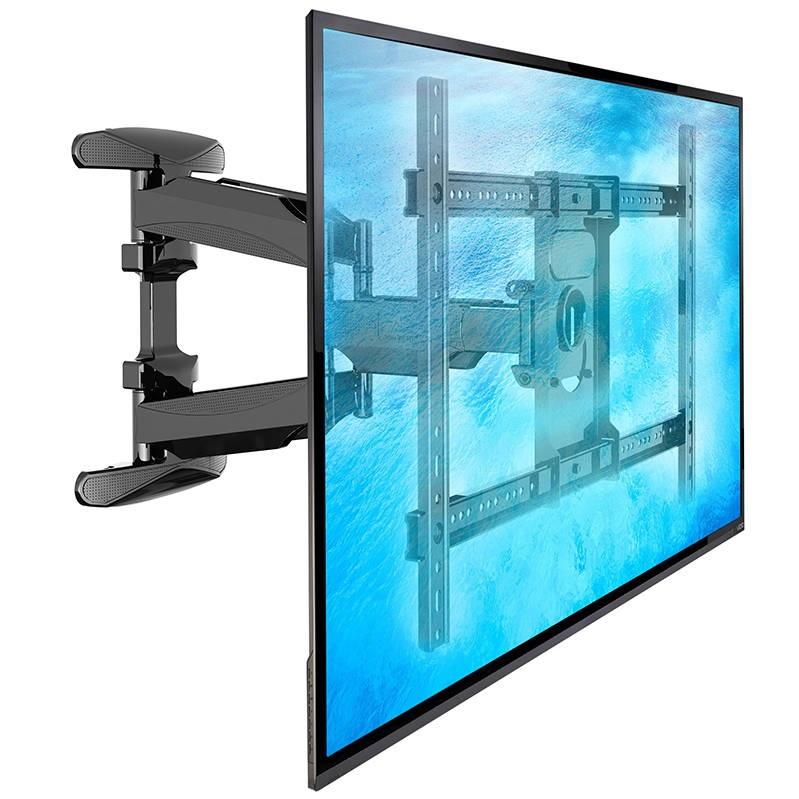 Výsuvný držák pro zavěšení LCD, LED, plazma, Full HD, 3D i prohnutých televizorů s úhlopříčkou 42-70 palců, otočný, sklopný, korekce roviny, vedení kabeláže. VESA standard, nosnost 45,5kg - Fiber Mounts CaptureL600