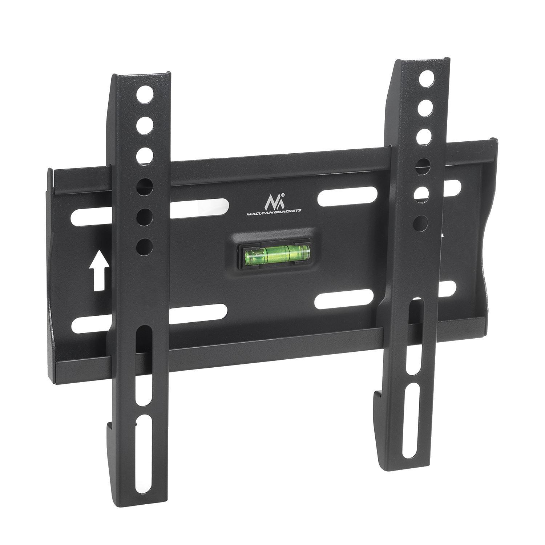 Levný ale kvalitní nástěnný fixní držák na LCD LED televizory a monitory s úhlopříčkou 13-42 palců, nosnost 35kg, podpora VESA standardů 75x75 až 300x200, vodováha a instalační materiál - Fiber Mounts AX777