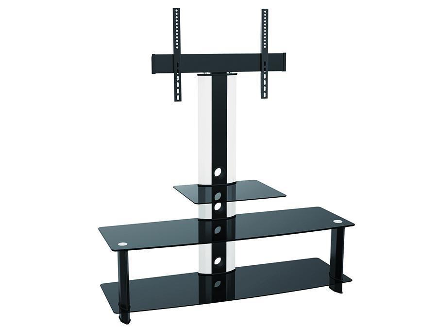 Televizní stolek s držákem na Tv 32-60 palců, krásný vzhled a skvělá cena televizního stolku Fiber Mounts AX626 Vám udělá opravdovou radost.