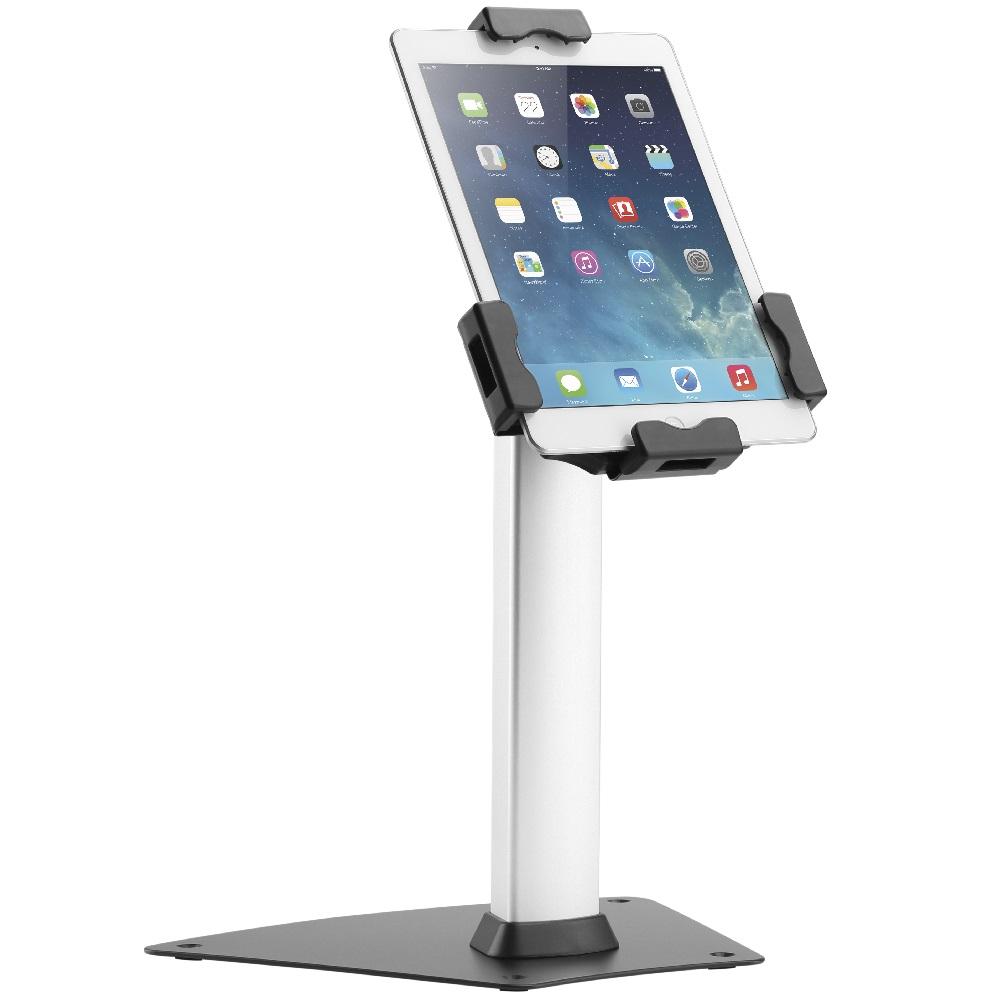 """Uzamykatelný stolní stojan na tablety iPady 7,9-10,5"""", zajištění tabletu iPadu proti krádeži, nastavení sklonu, rotace - Fiber Mounts TAGATA1"""