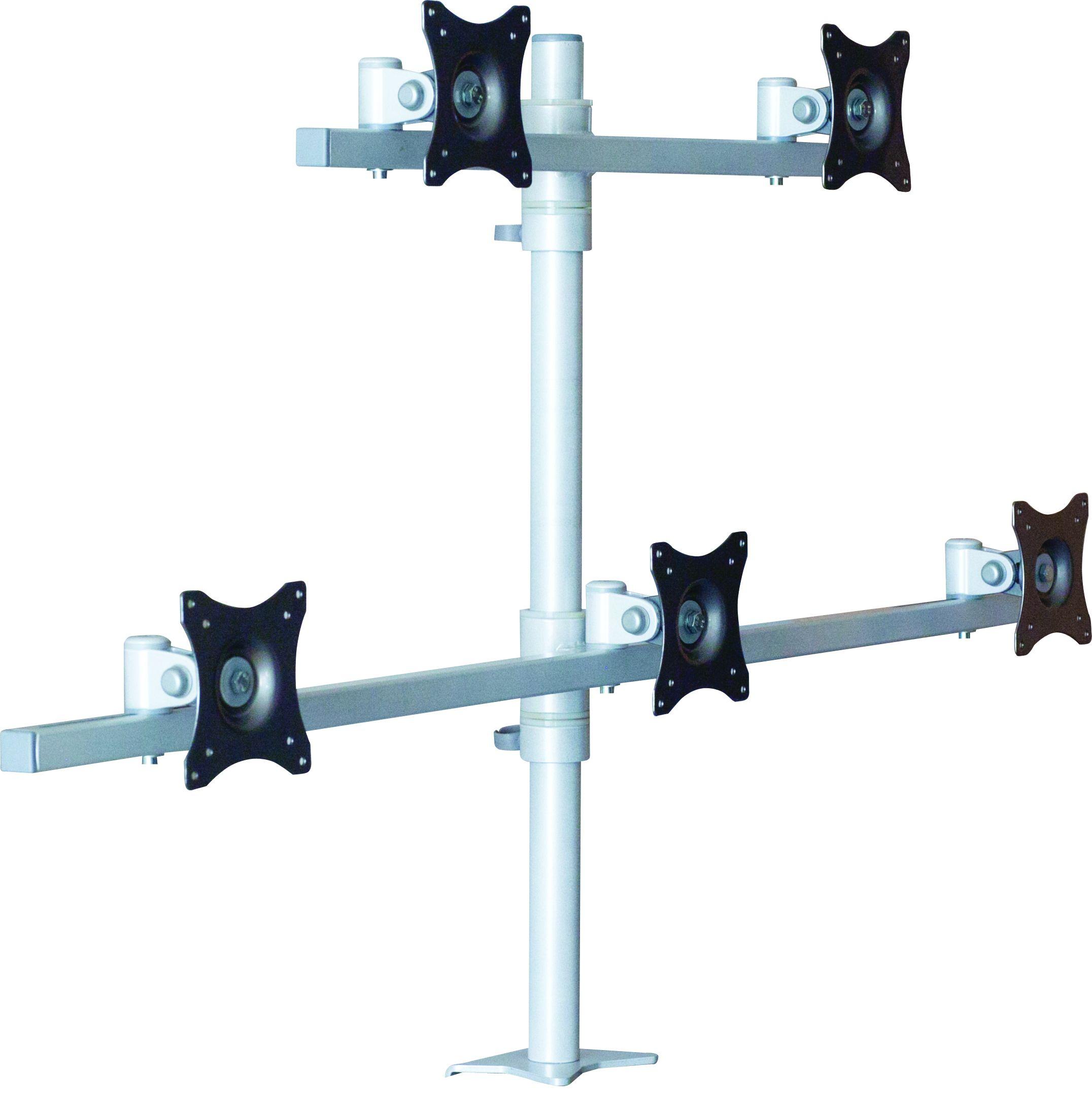Stolní držák na 5 monitorů - vícemonitorové držáky EDBAK SV12