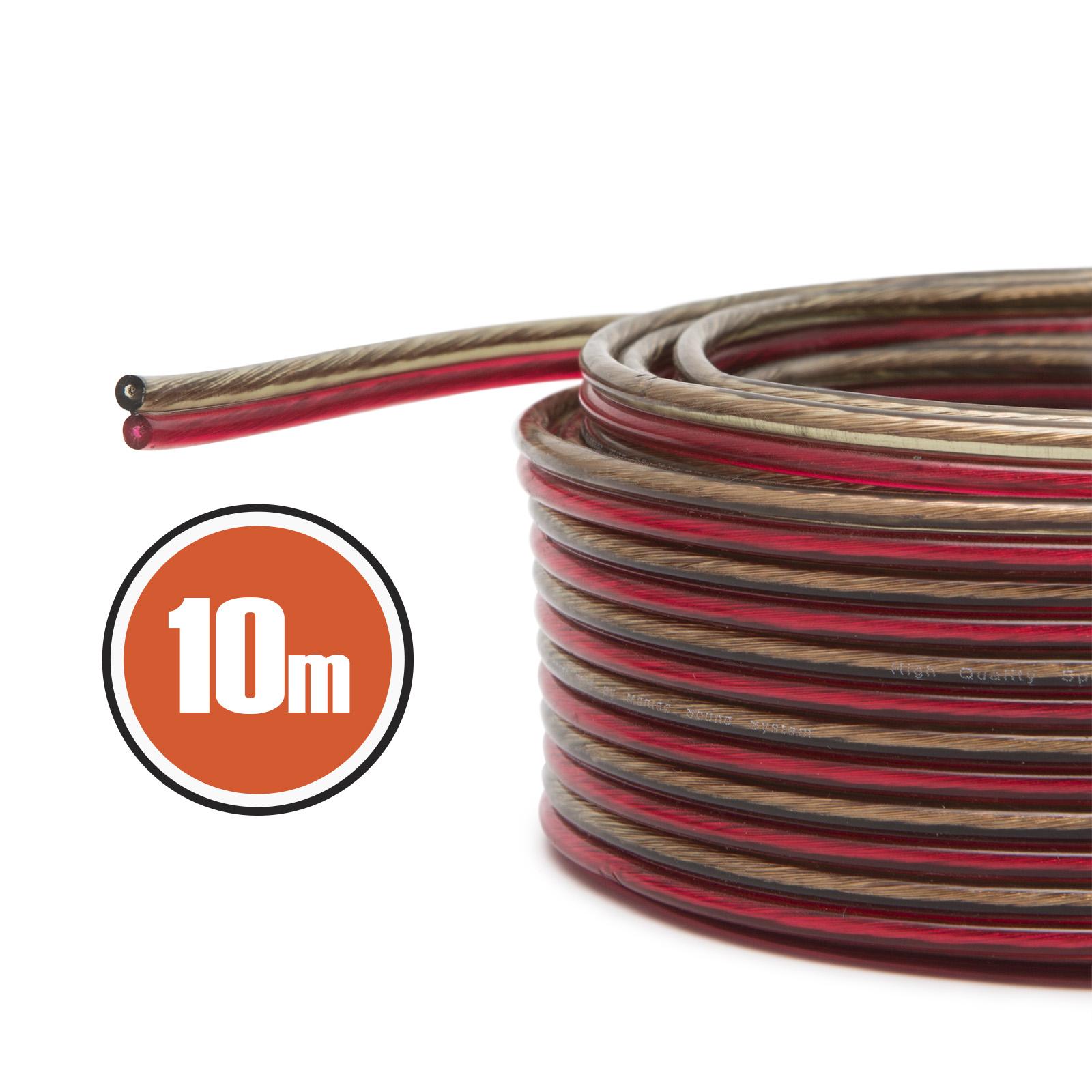 Kabel reproduktorový Fiber Mounts KR10