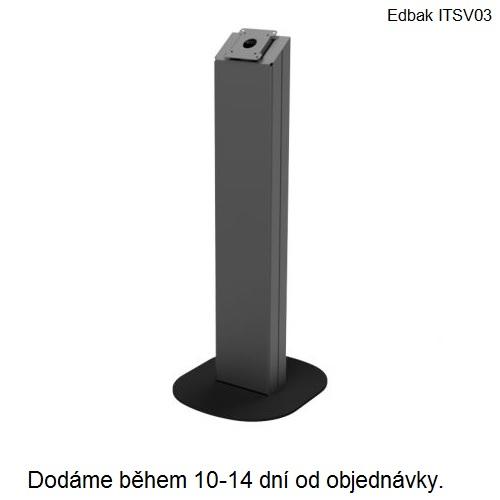 Stojan na dotykové obrazovky, tablety, EET pokladny EDBAK ITSV03 (Profesionální stojan na dotykové obrazovky s VESA standardem 75x75 a 100x100, celokovové provedení, systém vedení kabeláže vnitřkem stojanu, stabilní podstaven, možnost náklonu obrazovky)