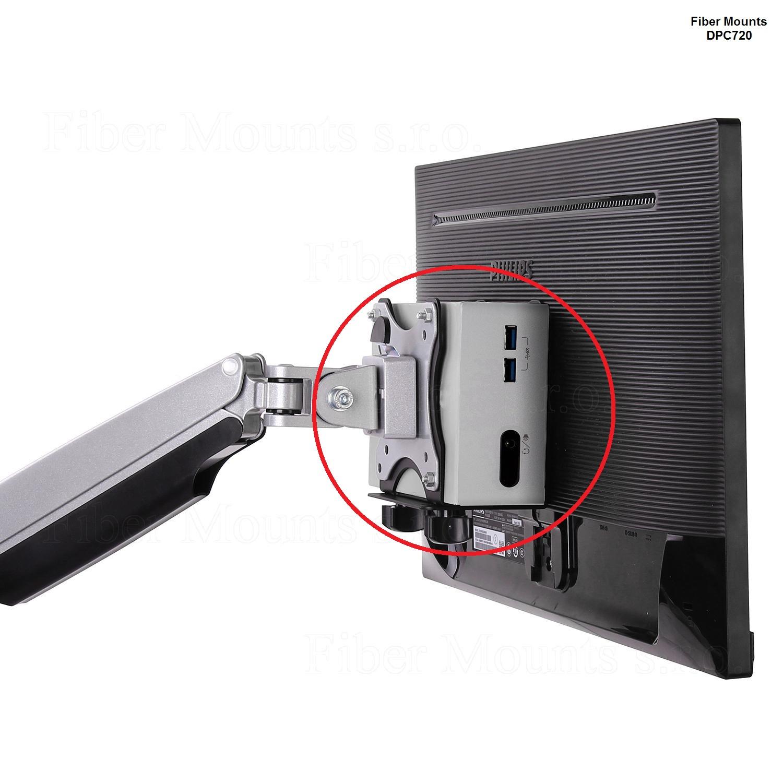 Fiber Mounts DCP720 - držák na NUC, Mini Mac CPU apod.