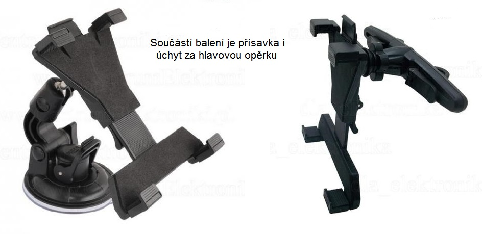 Držák na tablet do auta Fiber Mounts FM-589AB