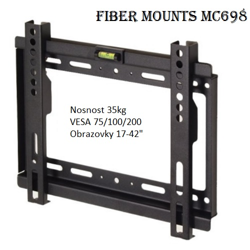 Fiber Mounts MC698 fixní držák tv monitoru