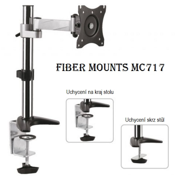 Držák monitoru na stůl Fiber Mounts MC717