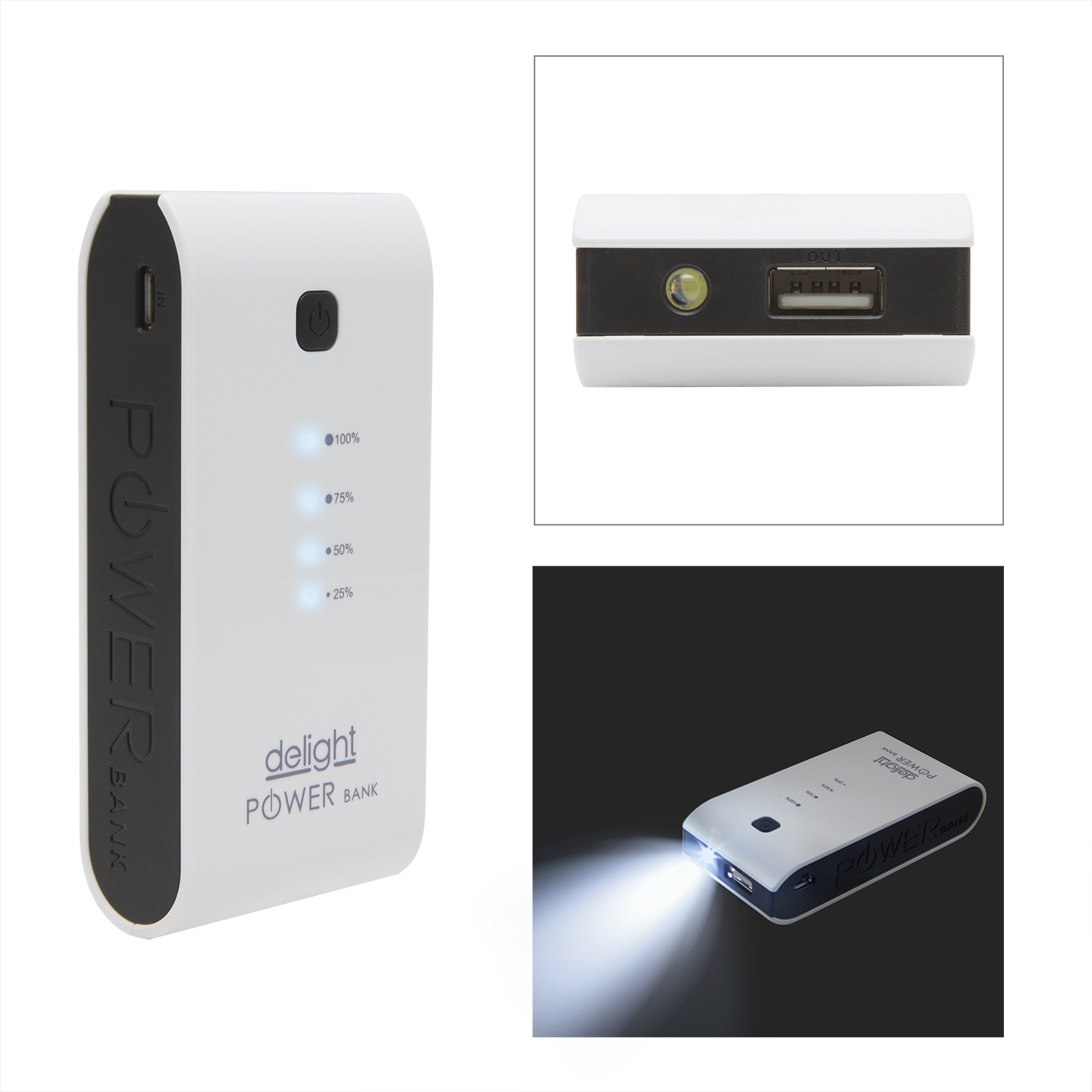 Delight Power Bank 3200mAh