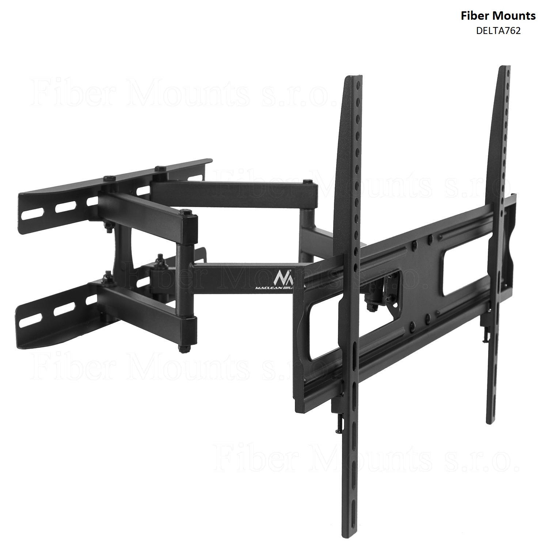 Levný otáčecí a naklápěcí držák na LCD LED televize s úhlopříčkou 37-70 palců a hmotností do 30kg - Fiber Mounts DELTA762 / drzakyastolky.cz