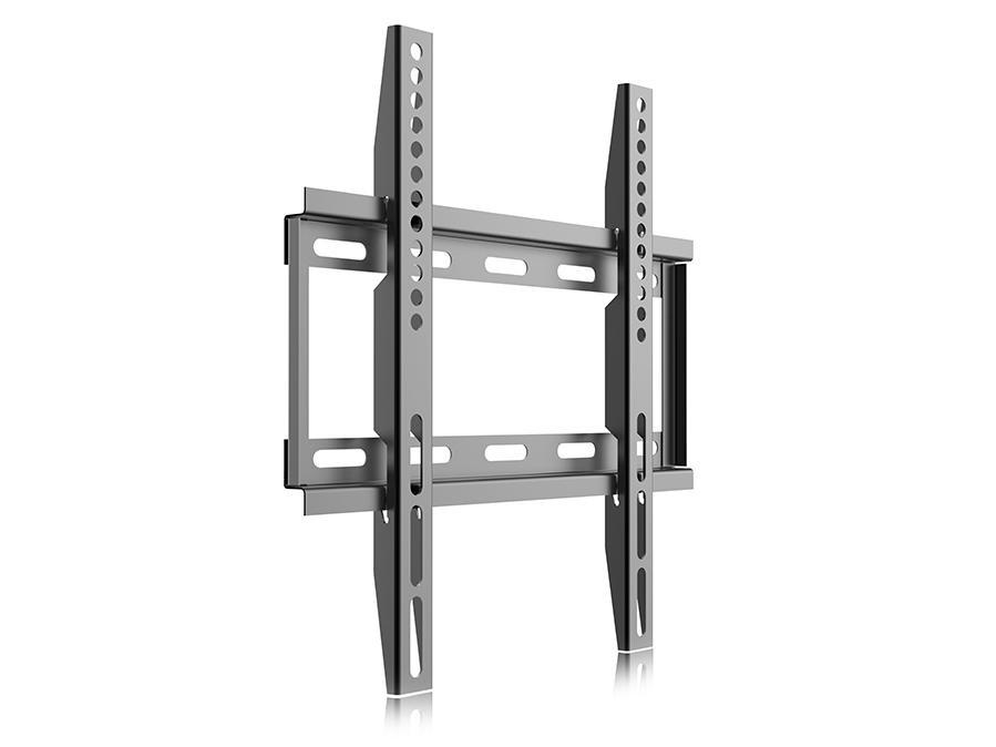 Levný ale kvalitní nástěnný fixní držák na LCD LED televizory a monitory s úhlopříčkou 17-39 palců, nosnost 25kg, podpora VESA standardů 75x75 až 300x200, vodováha a instalační materiál - Fiber Mounts MC649 / drzakyastolky.cz