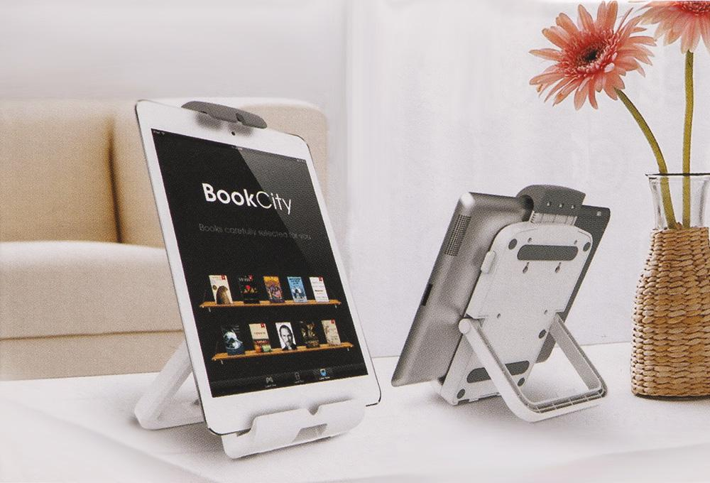 Univerzální držák na tablet nebo iPad, všestranné využití - stolní podstavec, nástěnný držák, přídavný držák tabletu na monitorové držáky - Fiber Mounts UT731