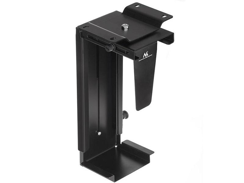 Profesionální držák na PC, nastavení na potřebné rozměry, bezpečný, pevný, spolehlivý, montáž na svislou nebo vodorovnou plochu - Fiber Mounts PC713B