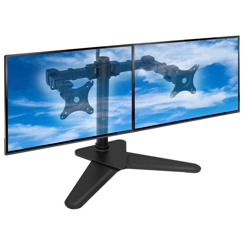 Stolový držák na 2 monitory nebo notebooky - ErgoSolid NF22