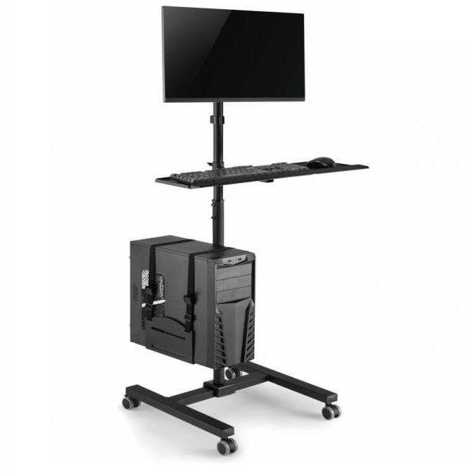 Mobilní pojízdné PC pracoviště / PC pracovna - Fiber Mounts M79C3