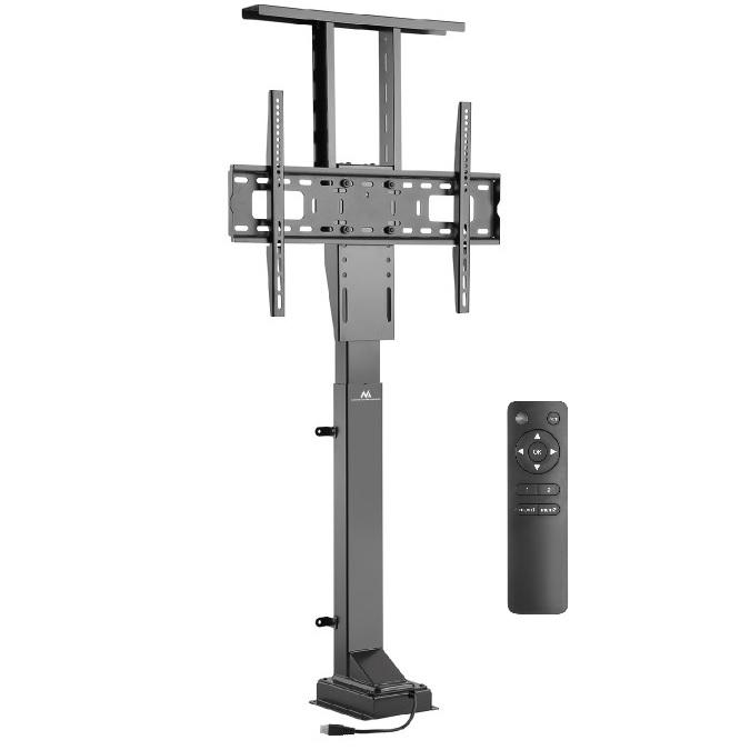 Nábytkový stojan na Tv pro vyjetí televize z komody, skříně apod. Fiber Mounts M8C66 je motorizovaný stojan pro výjezd Tv z vestavného nábytku.