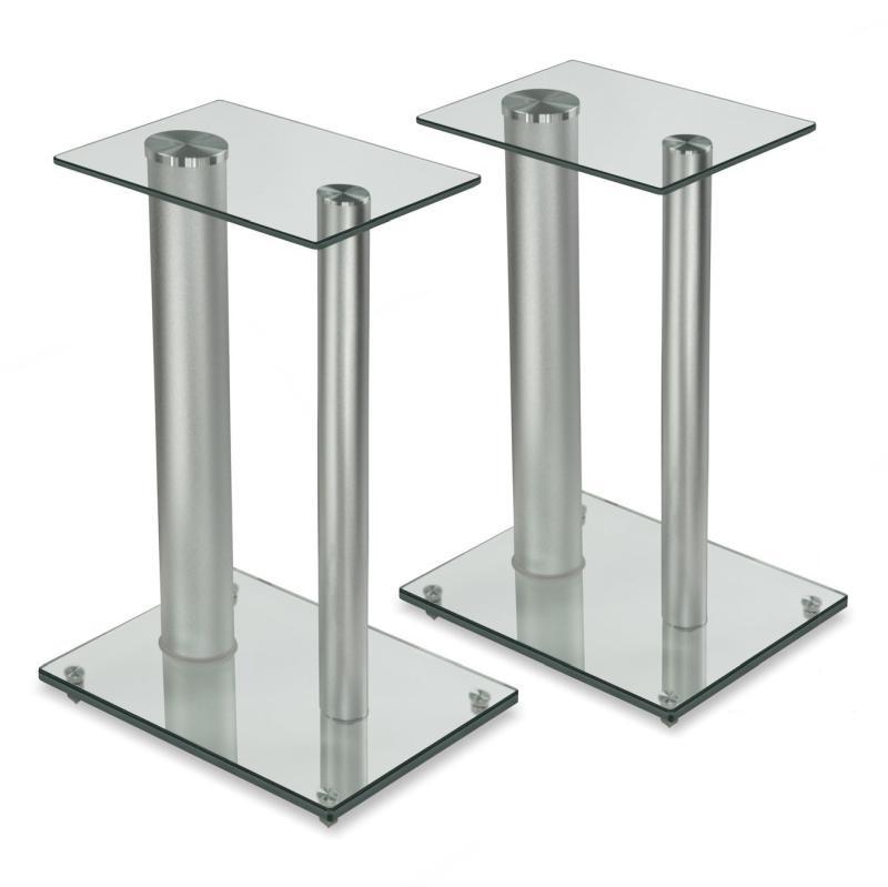 Kvalitní podlahové stojany na reprobedny a reproduktory, sklo a hliník - Fiber Novelty FN28S