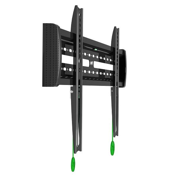 """Nástěnný fixní držák na Tv 43-80"""" v prémiové kvalitě - VESA 100x100 až 600x400, vzdálenost od zdi 29mm, systém click-connect, nosnost 56kg NB C3F"""