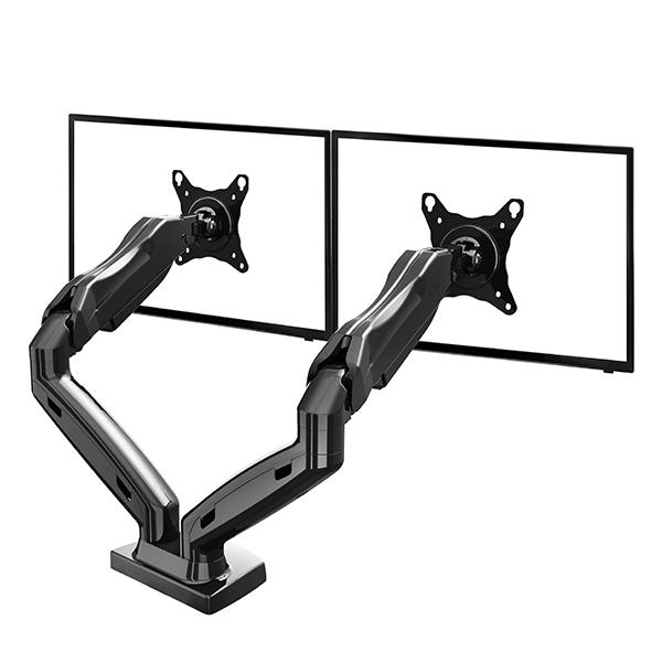Stolní držák na dva monitory Fiber Mounts F160