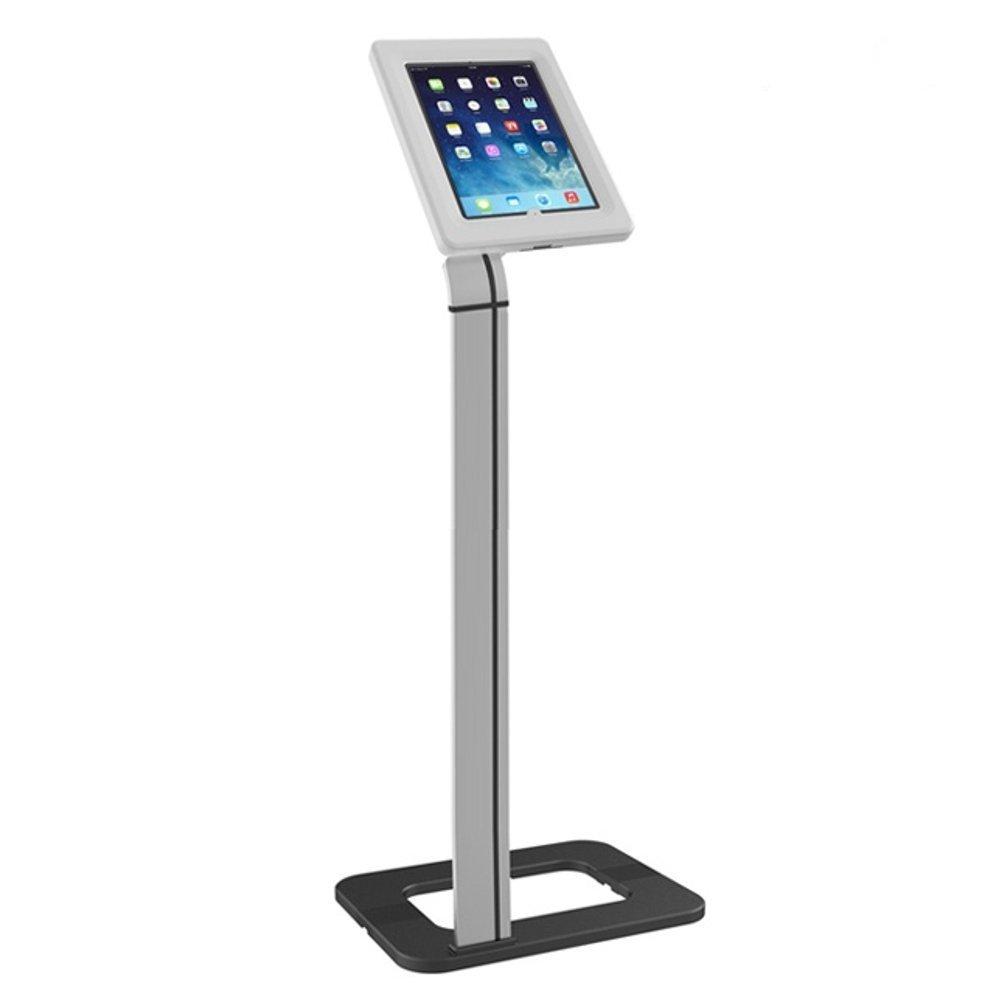 Fiber Mounts M6C45 je vynikající velmi pěkný podlahový stojan na tablety nebo iPady s uzamykatelnou přihrádkou