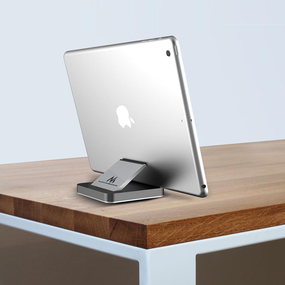 Luxusní designový hliníkový stolní podstavec na tablety a mobilní telefony - Fiber Mounts MC745