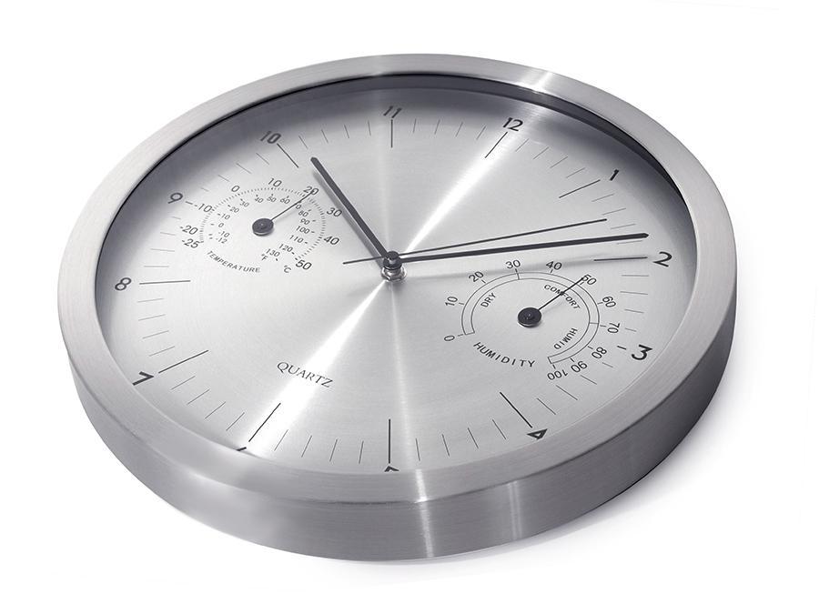 Dizajnové krásné velké přehledné hodiny s tichým strojkem, netikají -Fiber Mounts C3S
