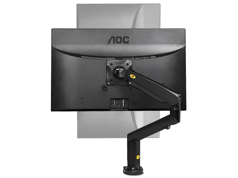 Profesionální stolový plně polohovatelný držák na monitory a televizory s úhlopříčkou 17-32 palců - Fiber Mounts F90A