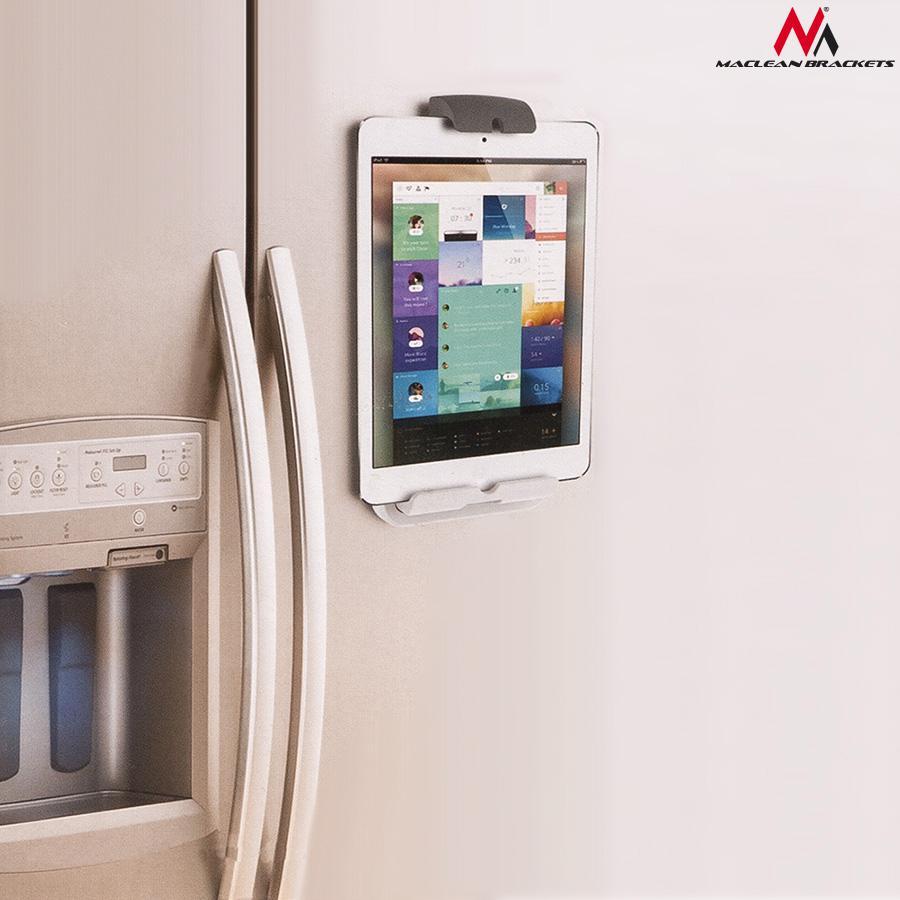 Držák tabletu iPadu na stěnu - montáž držáku Fiber Mounts UT731 na zeď
